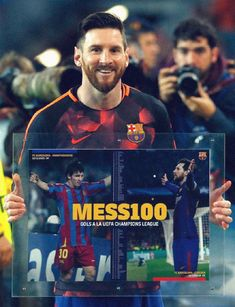 100 goals for Lionel Messi in the Champions League FC Barcelona Fc Barcelona, Lionel Messi Barcelona, Best Football Players, Soccer Players, Lionel Messi Family, Argentina National Team, Leonel Messi, Messi 10, Pep Guardiola