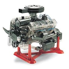 Rev8883 Visible V-8 Engine Model Kit R by Revell/Monogram, Toys & Games - Amazon Canada