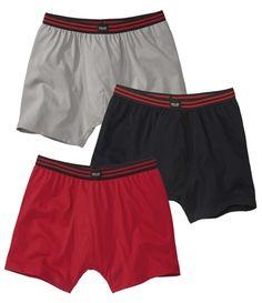 3Er-Pack Weiche Shorts #atlasformen #atlasformende #atlasformendeutschland #meinung #sommer #summer #pack #short #shorts