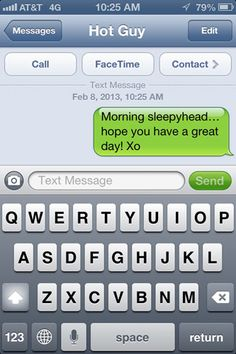 Cute and flirty texts to send to guys