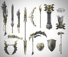 Mabinogi Heroes Weapons