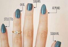 Resultado de imagen para dar forma almond a las uñas