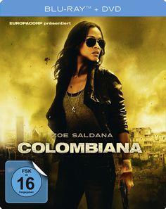 Colombiana (Steelbook + DVD & Poster) (Blu-ray): Amazon.co.uk: DVD & Blu-ray