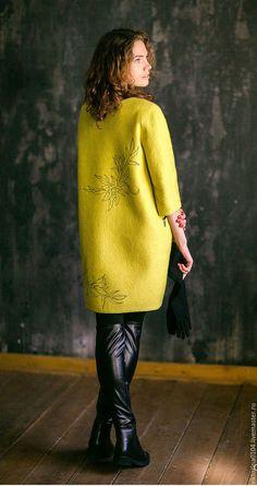 """Верхняя одежда ручной работы. Пальто """"Лили"""". Viktoriya Kupriyanova. Ярмарка Мастеров. Пальто валяное"""