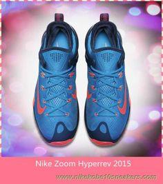 online store 990f2 5a7e5 Cheap 705370-464 Blue Lagoon Blue Force Bright Crimson Nike Zoom Hyperrev  2015