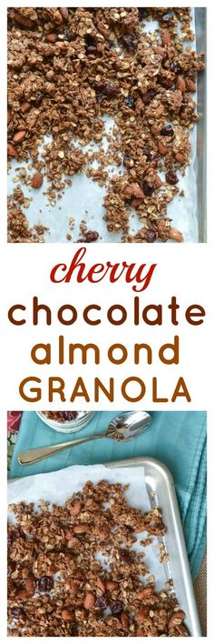 Chocolate Almond Granola. Crunchy and wholesome granola that makes ...