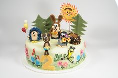 Little Mole & friends cake