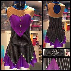 Ax-Elle design , ici skating dress