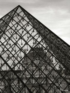The Louvre Pyramid by Kalexander2010, via Flickr