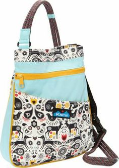 Kavu Keepsake Bag in new Foklore print. Print also available in Rope Bag. Lots more from which to choose. Cute Backpacks For Traveling, Fabric Bags, Cloth Bags, Travel Backpack, Comfortable Fashion, Diaper Bag, Purses, My Style, Book Bags
