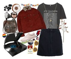 """Atmosphere"" by starscounter394 on Polyvore featuring moda, Harry Allen, R13, UNIF, Susan Caplan Vintage, Vans, Crate and Barrel, CÉLINE, Becca y Benzara"