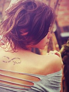 And in that moment I sware we were infinite. - 60   Inspirational Tattoo Quotes  <3 <3