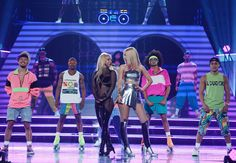Pin for Later: The Best Pictures From the Billboard Music Awards Britney Spears and Iggy Azalea Iggy Azalea, Britney Spears, Billboard Music Awards 2015, Las Vegas, Rapper, Celebrity Skin, Britney Jean, She Is Gorgeous, Celebs