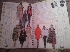 Create, Textile and Stitch: Older Fashion Sketchbook