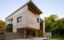 Gorgeous & Green: Split-Level Lake House Goes Off the Grid