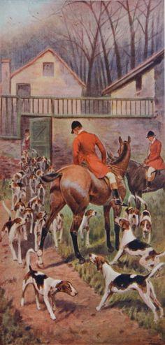 Traditional English #Hunting