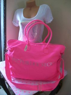 I would kill for some vs luggage, it is so cute :D | Bags and ...