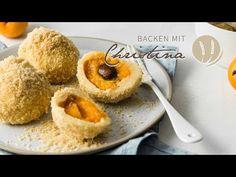 Marillenknödel - Backen mit Christina Organic Matter, Muffin, Cooking, Breakfast, Desserts, Food, Youtube, Baking Tips, Savoury Pies