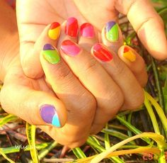 Multi-colour nails