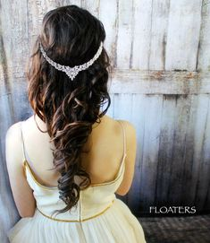 Bridal Headband Bridal Headpiece Bridal Hair by HairFloaters