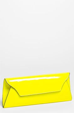Melie Bianco 'Riley' Faux Leather Envelope Clutch available at #Nordstrom