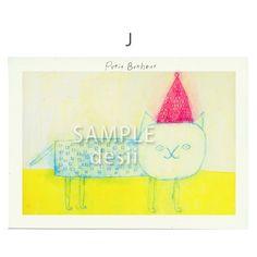 ポストカード5枚セット用の絵柄です。J商品はSAMPLE desiiの文字がないものになります。|ハンドメイド、手作り、手仕事品の通販・販売・購入ならCreema。