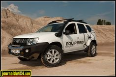 Sand Duster d'Equip'Raid - Dacia Duster, 4x4, Offroad, Models, Cars, Rally Car, German Army, Air Filter, Everything