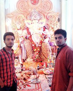 New pin for Ganpati Festival 2015 is created by by hitller_6 with #Me & #my #big B #with #ganpatibappa