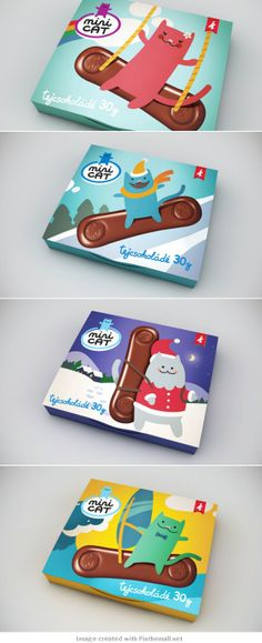 The cat was so cute I went back and got the rest of the #packaging curated by Packaging Diva : ) PD created via http://www.thedieline.com/blog/2010/11/8/minicat.html