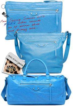 balenciaga azure collection s/s 2012