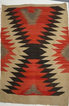 "Navajo 48"" x 62"" Rug : Lot 41"