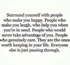 Choose the right people.