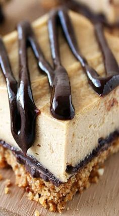 Chocolate Peanut Butter Pretzel Cheesecake Bars