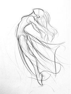 43 best dancer drawing images in 2018 Art Drawings Sketches Simple, Pencil Art Drawings, Easy Drawings, Drawing Ideas, Drawing Tips, Sketch Drawing, Body Sketches, Drawing Techniques, Drawing Art