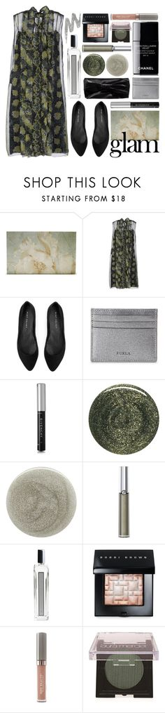 """glammed up"" by foundlostme ❤ liked on Polyvore featuring beauty, Prada, Mint Velvet, Furla, Givenchy, RGB, Nails Inc., Giorgio Armani, Serge Lutens and Lumière"