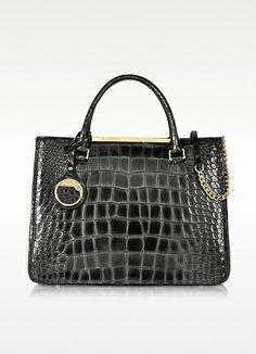 Class Roberto Cavalli Jennifer Croco Embossed Leather Satchel on http://stylecom.shopstyle.com