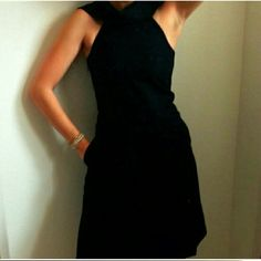 Club Monaco Price is reduced and firm.  Club Monaco Wool Dress in excellent condition very warm and very nice fitted very different and from a very good quality brand. Club Monaco  Would never sell it if i knew i would fit this dress but i dont think so. Club Monaco Dresses Midi
