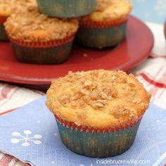 Eggnog Crumble Muffins