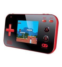 My Arcade Portable w/220 Games Red/Black