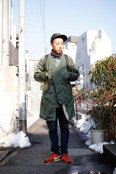 ストリートスナップ | ヤマモトアキラ | ミキリハッシン 販売員 | 原宿 (東京)