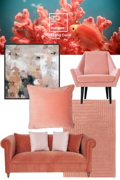 Inspired by Pantone Colour of the Year: Living Coral, discover our favourite coral finds.