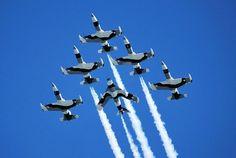 The Black Diamond Jet Team, from Lakeland, Florida