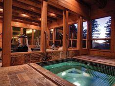 Amazing Log Homes Interior   Amazing log cabin home in Park City, Utah