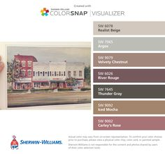 paint colors from colorsnap by sherwin williams paint possibilities for new house pinterest. Black Bedroom Furniture Sets. Home Design Ideas