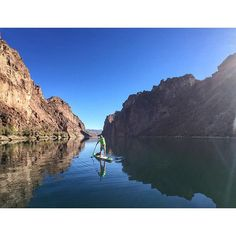 """Yesterday we paddled out at Black Canyon on Colorado River. Thanks our partners @bombereyewear @optrix and @404sup for support. Soon we will share our travel report with more photos attached."" Photo taken by @stand_up_paddle on Instagram, pinned via the InstaPin iOS App! http://www.instapinapp.com (11/09/2015)"