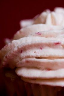 Strawberry Whipped Cream Frosting - try for the wedding