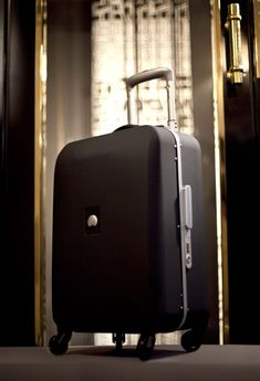 HONORE #suitcase # black #Delsey