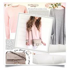 """""""www.pearlparadise.com"""" by ellma94 ❤ liked on Polyvore featuring Chloé, River Island, By Lassen, pearljewelry and pearlparadise"""