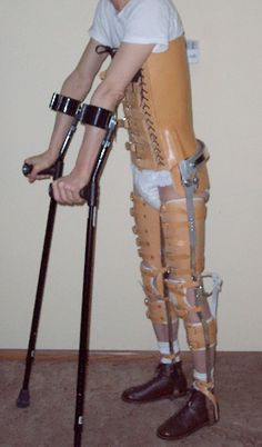 reciprocating gait orthosis - Google Search