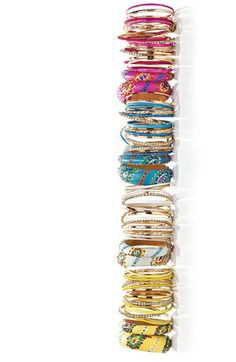 Died and gone to bangle heaven! Love these Cara mixed media bangles